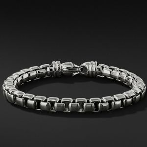 David yurman large box chain sterling silver brace